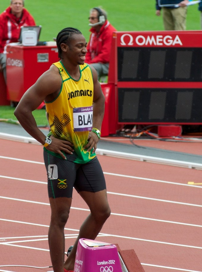 Yohan Blake at the 2012 summer Olympics
