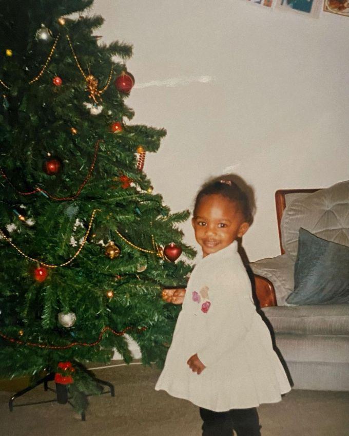 Dina Asher-Smith Childhood Photo