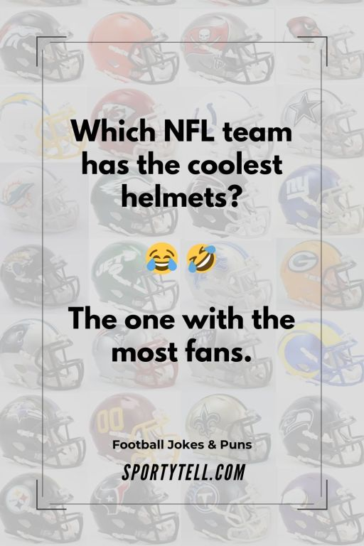 NFL team with the coolest helmets — Puns About Football