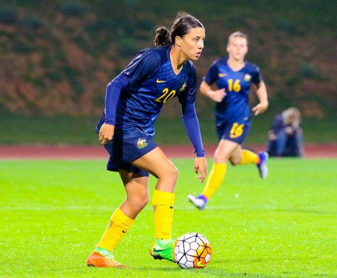 Samantha Kerr — Top Paid Female Soccer Player