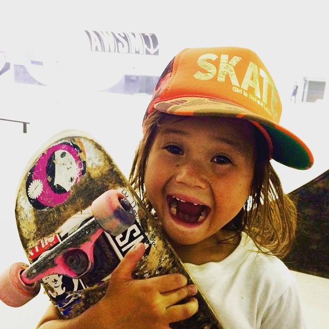 Sky Brown Childhood Photo in 2015