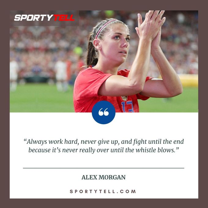 Inspirational & Motivational Quotes By Alex Morgan