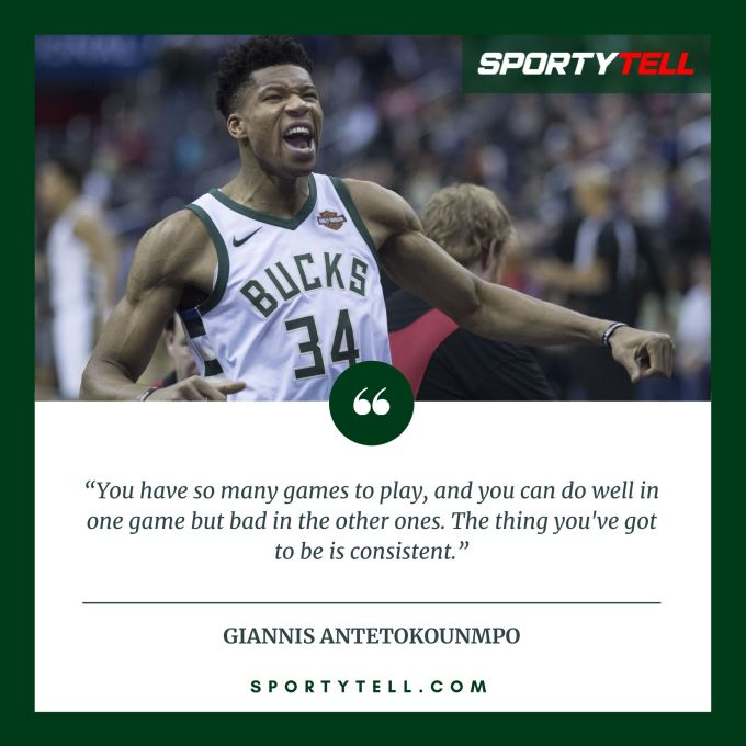 Inspirational & Motivational Quotes By Giannis Antetokounmpo