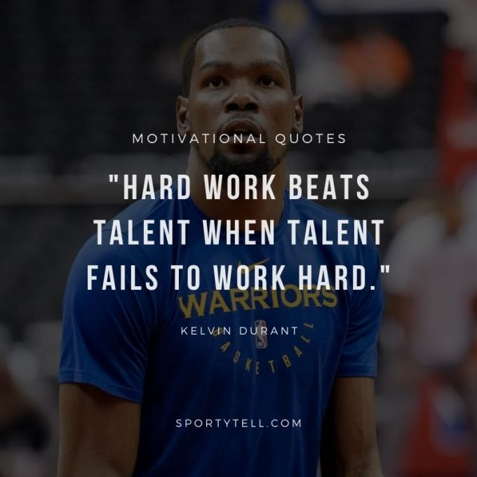 Inspirational & Motivational Quotes By Kevin Durant