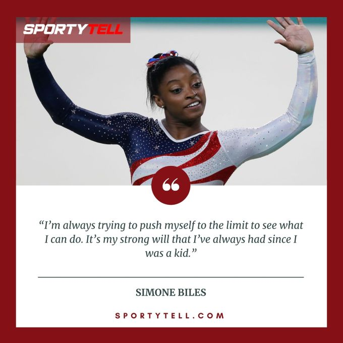 Inspirational & Motivational Quotes By Simone Biles
