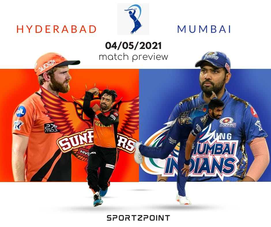 Fantasy Cricket Dream11 Team Prediction: SRH Vs MI 31st Match IPL Fantasy League Preview