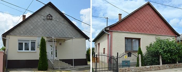 Doua case aproape identice, dintre care doar una izolata corect