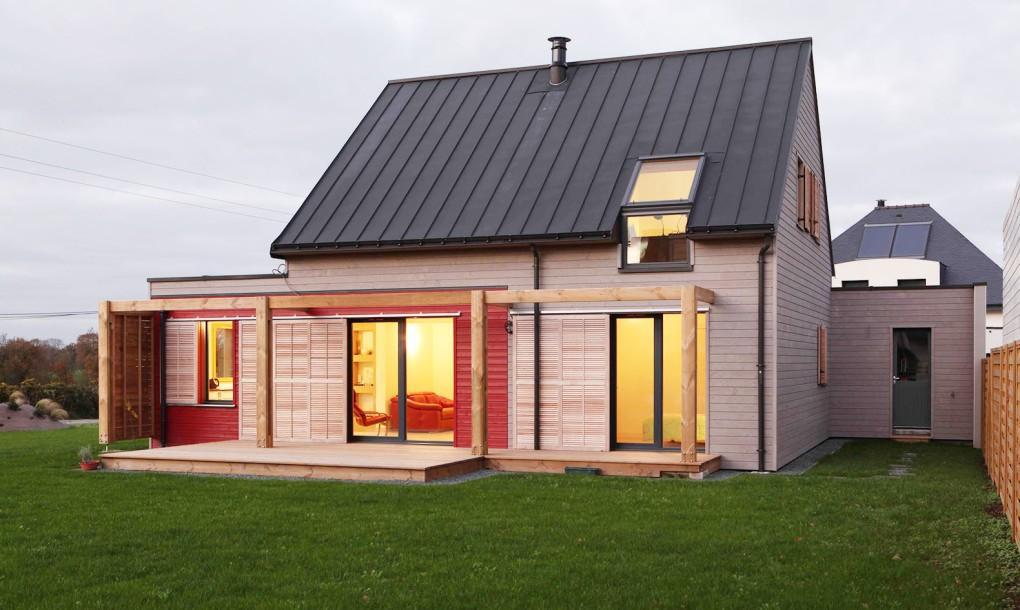 O casă eficientă energetic adaptată la condiţiile şi resursele locale