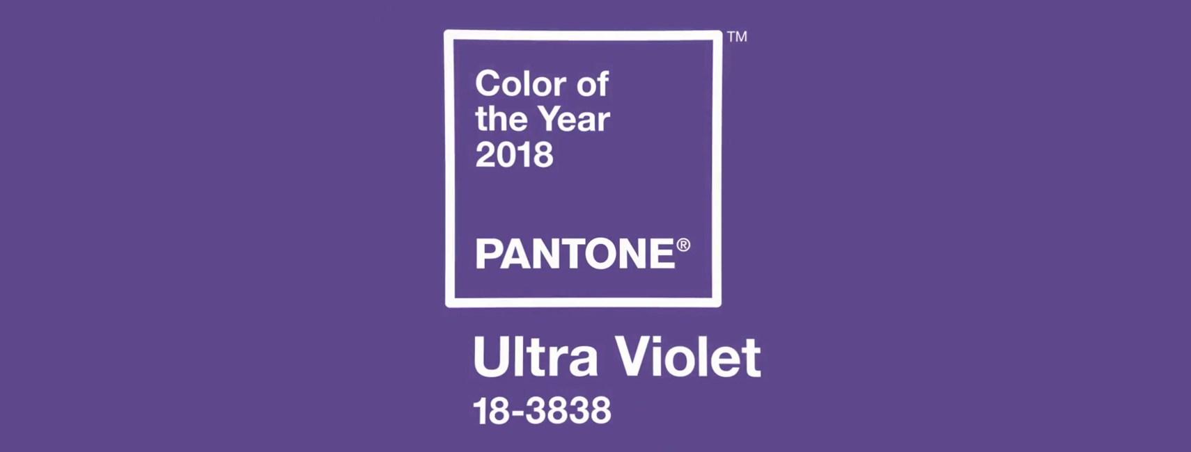 Culoarea anului 2018: Ultra Violet. Idei de mobilier și decorațiuni