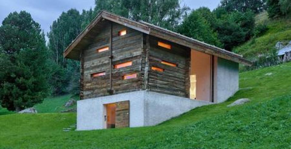 O cabană tradițională de munte, recondiționată și modernizată