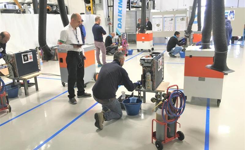 Daikin Service Games 2019 – concurs pentru tehnicienii de service ai partenerilor Daikin România