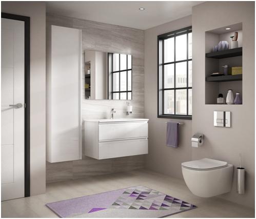 7 idei de design interior pentru o baie simplă și frumoasă