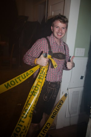 SPO Mission Leader Ben after a successful Haunted Household.