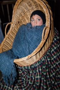 My costume this year: a baby in a baby carriage.