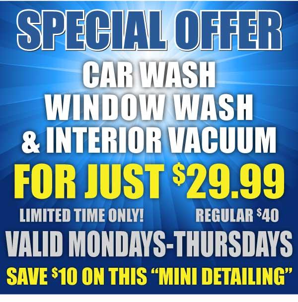 spotless auto wash
