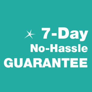 Spotless Cleaning 7 day no hassle guarantee