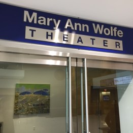 Mary Ann Wolfe Theater.