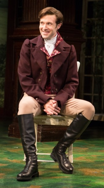 "The gentlemen of ""Sense & Sensibility"", pre-hurling. Jacob Fishel as John Willoughby."