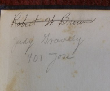 Judith Gravely's name in the Yale Shakespeare