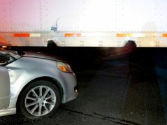 Charges are pending against the driver of a truck after he turned into the path of an oncoming car as he was trying to make a left turn off Route 9W onto Creeble Road Tuesday, March 15. Photo by Tom Heffernan