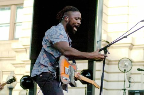 Bloc Party kicked off its U.S. tour at Albany's Alive at Five Thursday, July 21. Rob Jonas/Spotlight