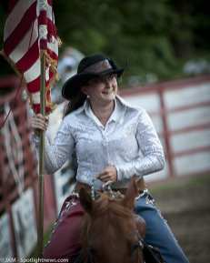 Spotted: Double M Professional Rodeo on July 2 in Ballston Spa, NY.