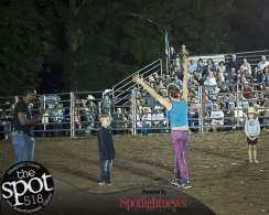 Spotted: Double M Professional Rodeo Aug 20 in Ballston Spa, NY.