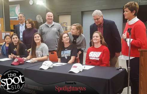 National Letter of Intent signing day at Bethlehem Central High School Nov. 15. Photo by Rob Jonas/Spotlight