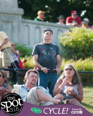 SPOTTED: King Yellowman at Alive at Five, Aug. 2