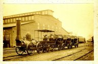 Railroad Ave engine