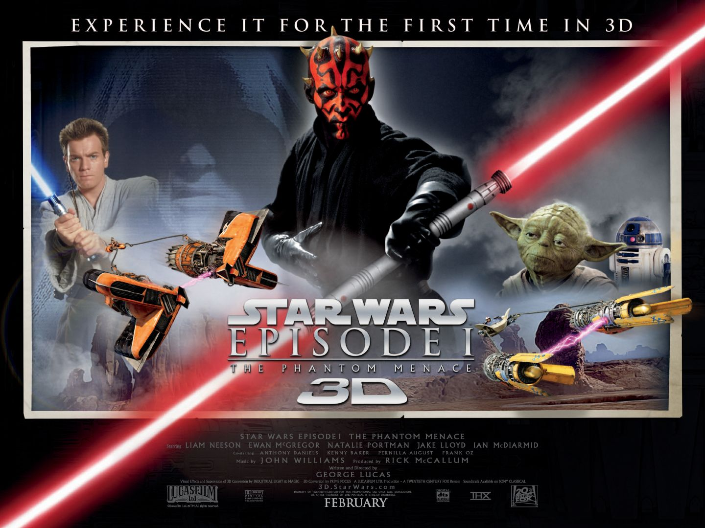 Image result for Phantom menace 3D