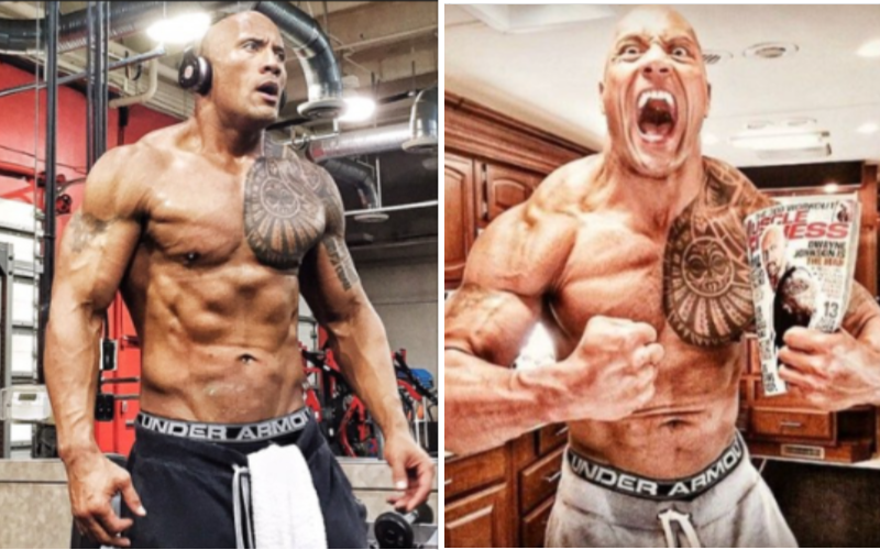 5 Best Muscle Building Tips From Dwayne Johnson