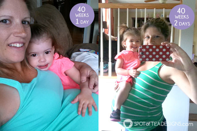 """10 Things You Do When #Pregnant and overdue - Take the """"final bump"""" shot every day!   spotofteadesigns.com"""