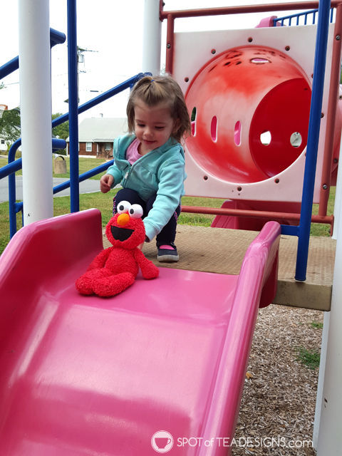 second year of #parenting lessons learned the hard way. #advice - Bring a towel to the playground the day after a rain storm | spotofteadesigns.com