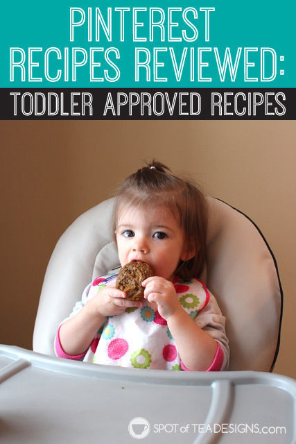 Pinterest #Recipes Reviewed: #Toddler Approved Recipes | spotofteadesigns.com