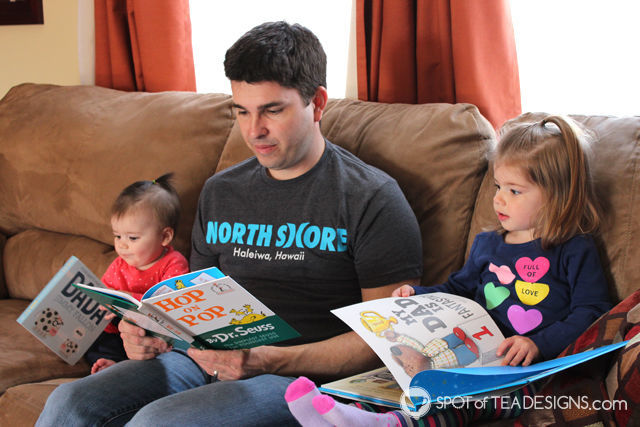 Father's Day Gift Tradition: Dad Books. Book for only dads to read with their kids. #fathersDay #giftIdeas | spotofteadesigns.com