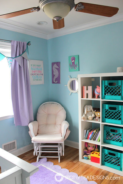 Under the Sea #Nursery | spotofteadesigns.com