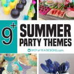 9+ Summer Party Themes