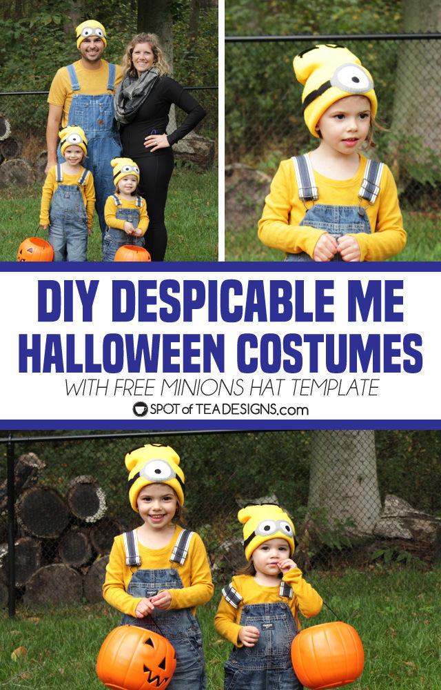 Minions Halloween Costume.Diy Despicable Me Halloween Costumes Spot Of Tea Designs