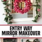 Entry Way Mirror Makeover
