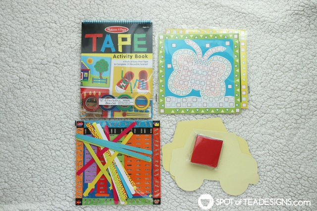 What to include inside airplane Travel Bags for Kids | spotofteadesigns.com