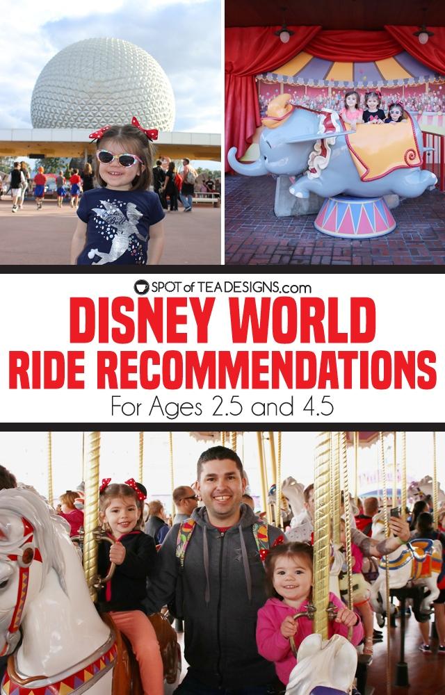 Disney World Vacation Ride Recommendations | spotofteadesigns.com