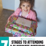 7 Stages to Attending a Classmate Birthday Party As a Parent