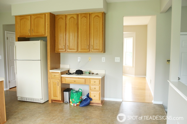 "Nehil Home Tour: the ""before"" photos - kitchen 