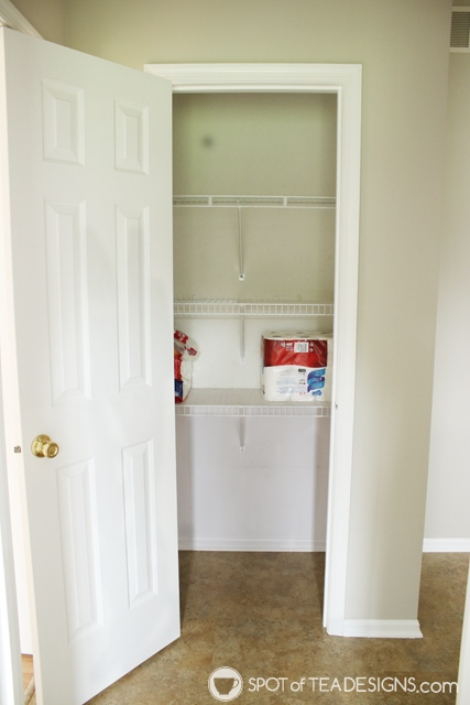 "Nehil Home Tour: the ""before"" photos - the pantry 