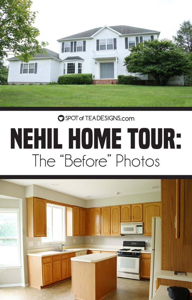 "Nehil Home Tour: the ""before"" photos 
