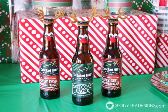 8+ DIY Beer gift ideas - reinbeers | spotofteadesigns.com