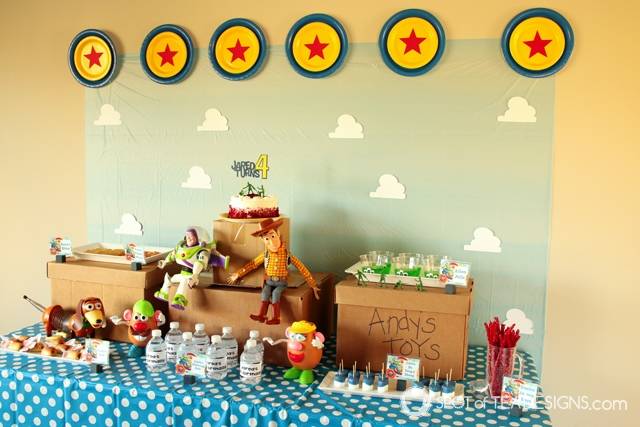 Toy STory Party Hacks - tips to throw a cute party on budget   spotofteadesigns.com