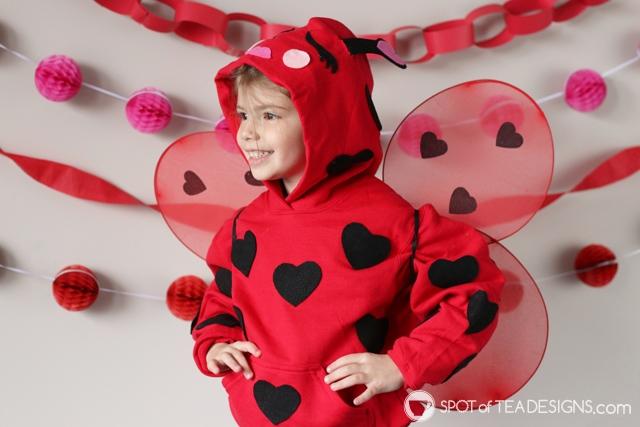 DIY Hoodies for kids - lovebug   spotofteadesigns.com
