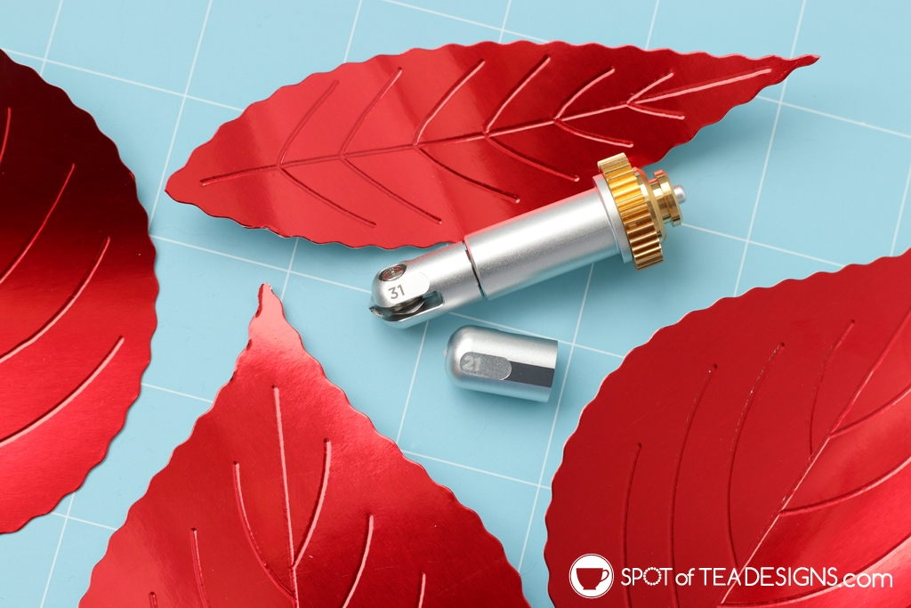 DIY Fall Mantle - Cricut Maker Deboss and wavy tip | spotofteadesigns.com